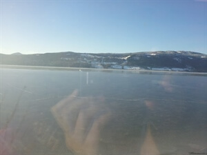 In photos: A train from Oslo to Lillehammer