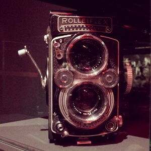 Inspiration: Robert Doisneau on his Rolleiflex