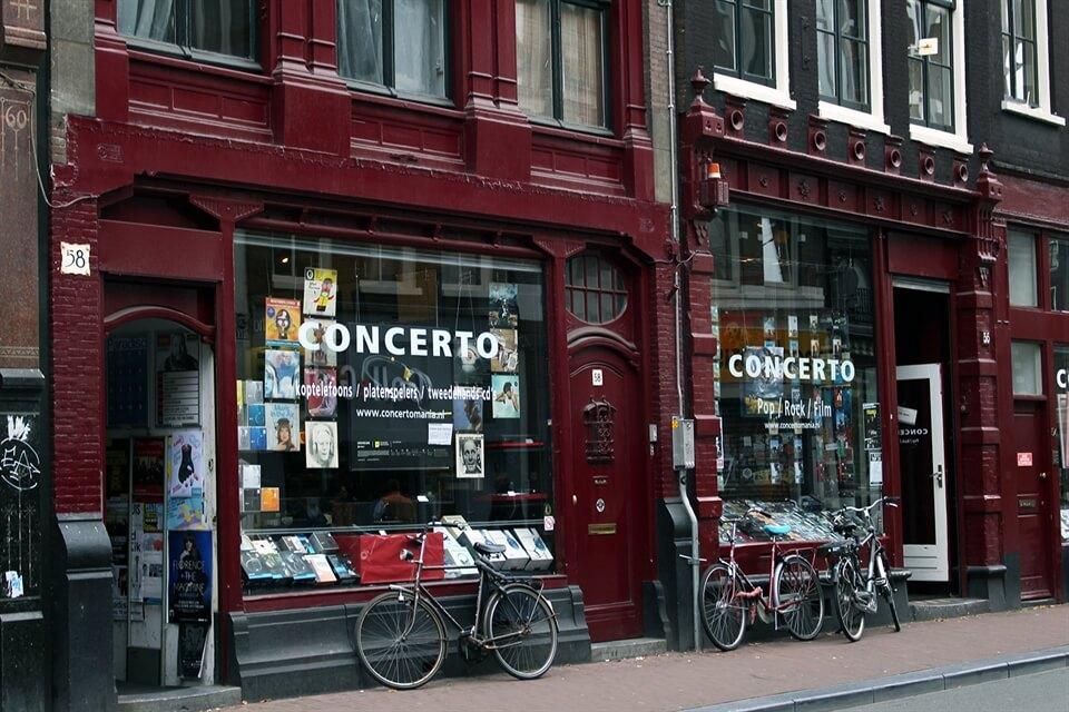 Amsterdam Travel: Concerto MusicStore