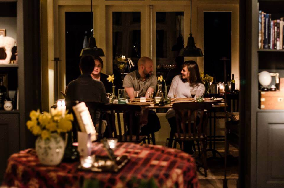Life in Amsterdam: How to make friends in Amsterdam - Dinner with Strangers