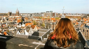Amsterdam Travel: Climbing up the Oude Kerk's Church Tower
