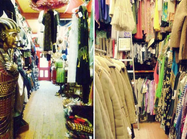 best kept secret vintage shops in edinburgh as the bird