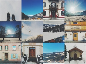 Twelve little photos from Zillertal, Austria