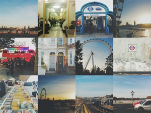 Twelve little photos from London