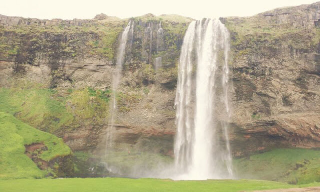 In photos: Behind the Waterfall, Seljalandsfoss