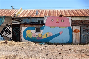 Travel Stories:The Power of Art (and Talking) in Woodstock, Cape Town.