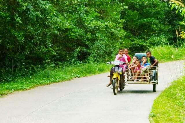 Boys will be boys... on Koh Yao Noi, Thailand