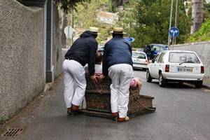 In photos: Funchal Cable Car & Tobogganing