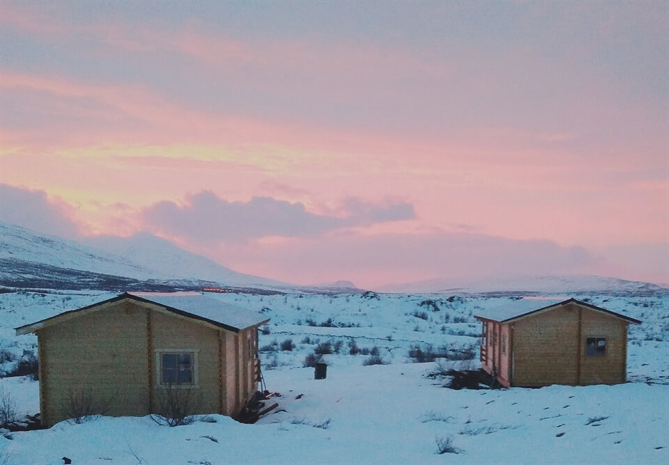 In Photos: Staying in a Cabin in East Iceland