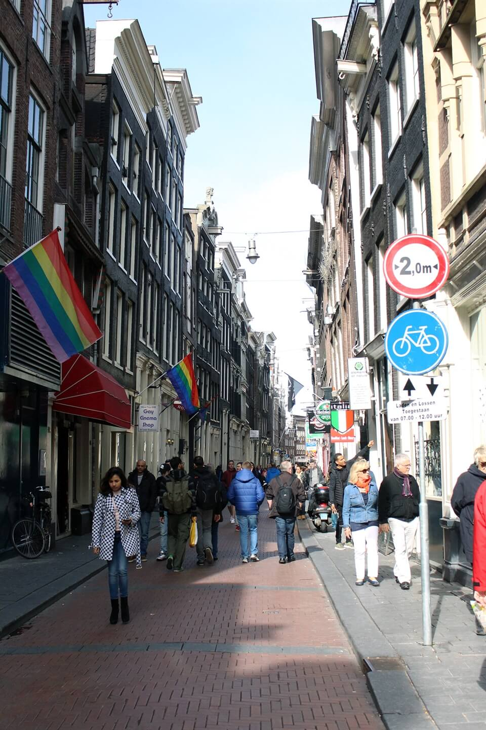 Amsterdam Travel: A Walking Tour of the Red Light District : As the ...
