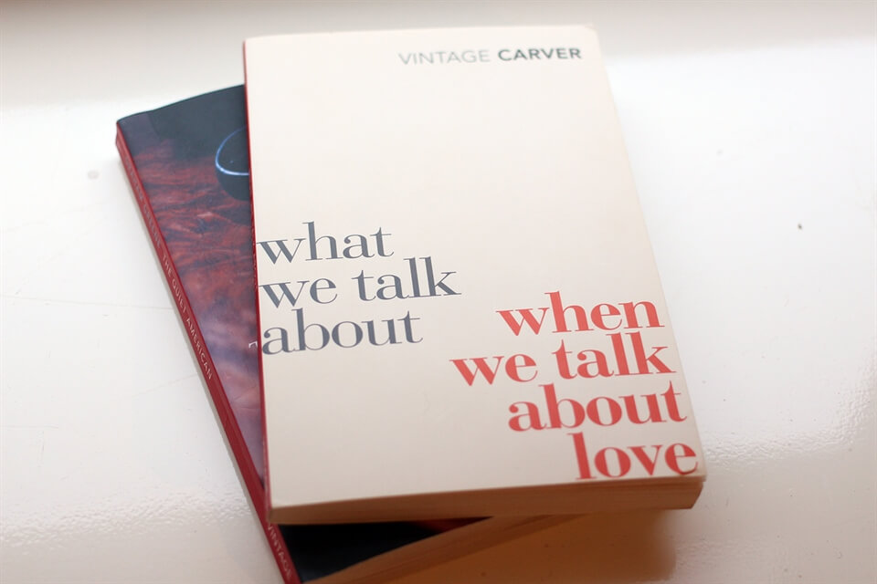 what we talk about when we talk about love thesis What we talk about when we talk about love by raymond carver - analysis summary and analysis.