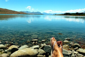 in photos: Collecting WOW! Moments at lake tekapo in New Zealand